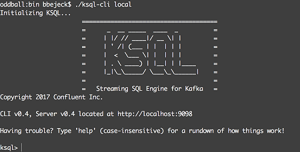 Streaming Data with KSQL | Manning