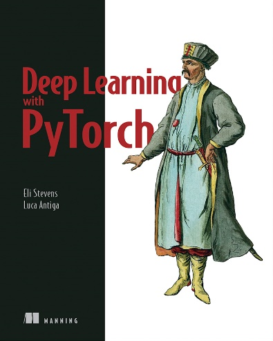 Description: C:\Users\Chris\Desktop\Manning\Images\cover images\deep learning with pytorch.jpg
