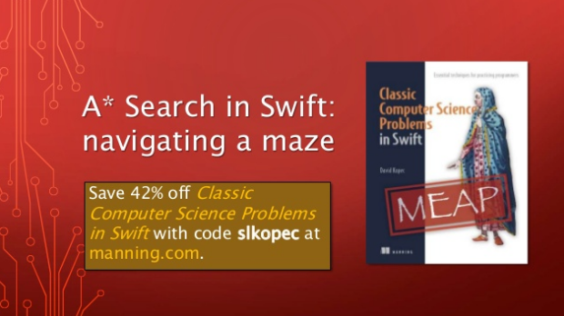 slideshare-a-asterisk-search-in-swift-navigating-a-maze