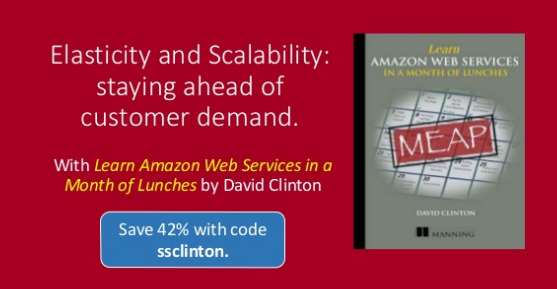 Elasticity and Scalability: staying ahead of customer demand | Manning